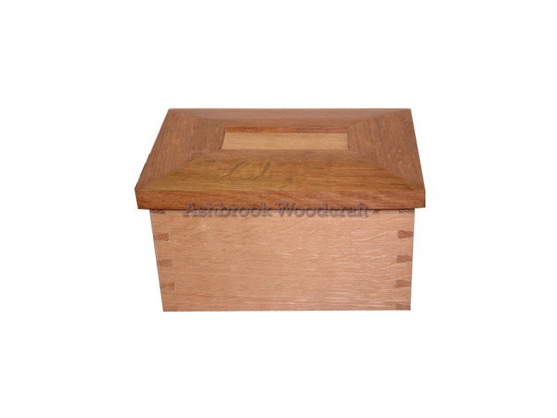 Solid Oak Jewellery Box Bespoke Wooden Furniture Staffordshire