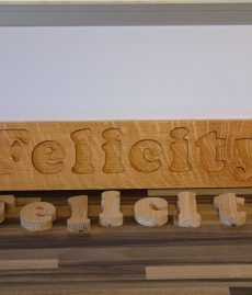 Personalised Wooden Name Jigsaw Puzzle